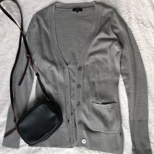 Sweaters - Button-up cardigan